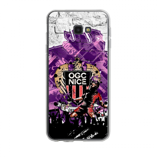 Coque silicone Iphone SE 2020 verre trempé Fan de Ligue 1 Monaco splatter