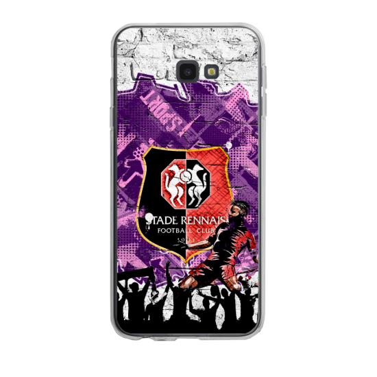 Coque silicone Iphone SE 2020 verre trempé Fan de Ligue 1 Lille splatter