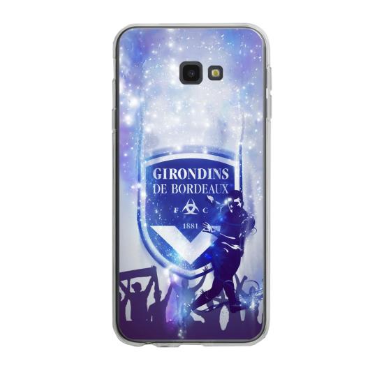 Coque silicone Iphone SE 2020 verre trempé Fan de Ligue 1 Toulouse cosmic