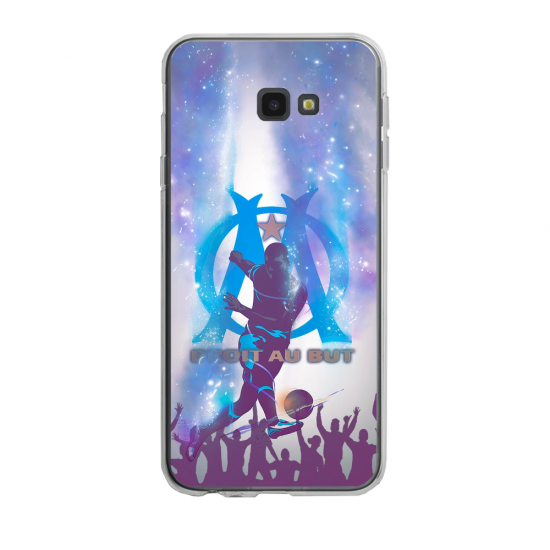 Coque silicone Iphone SE 2020 verre trempé Fan de Ligue 1 Paris cosmic
