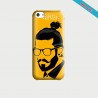 Coque Galaxy S4Mini Hipster coupe fun