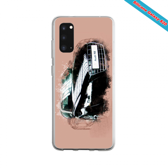 Coque silicone Iphone XR Verre Trempé Yoga Papillon