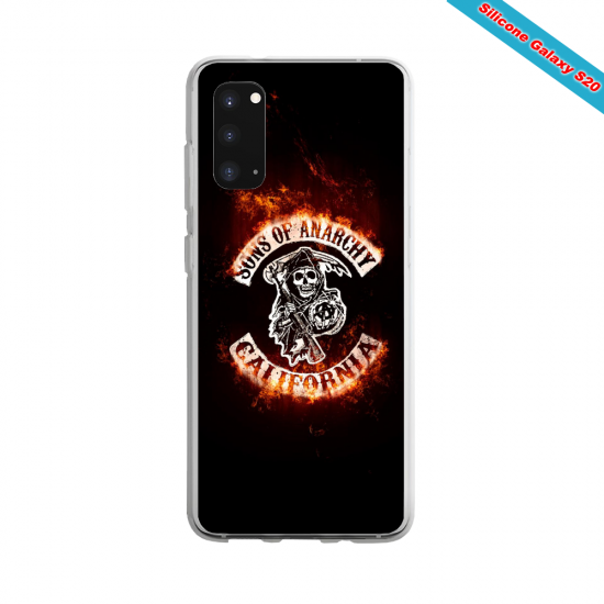 Coque silicone Iphone 11 verre trempé Yoga Papillon