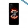 Coque silicone Iphone 11 verre trempé Yoga Papillon