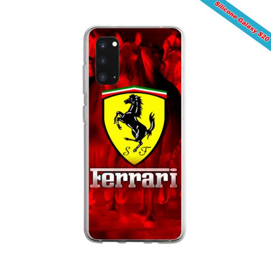 Coque silicone Galaxy J4 CORE Yoga Papillon