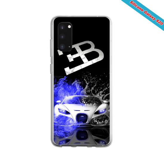 Coque silicone Galaxy J6 Yoga Papillon