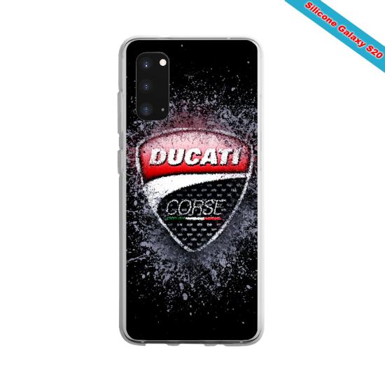 Coque silicone Galaxy J7 2016 Yoga Papillon