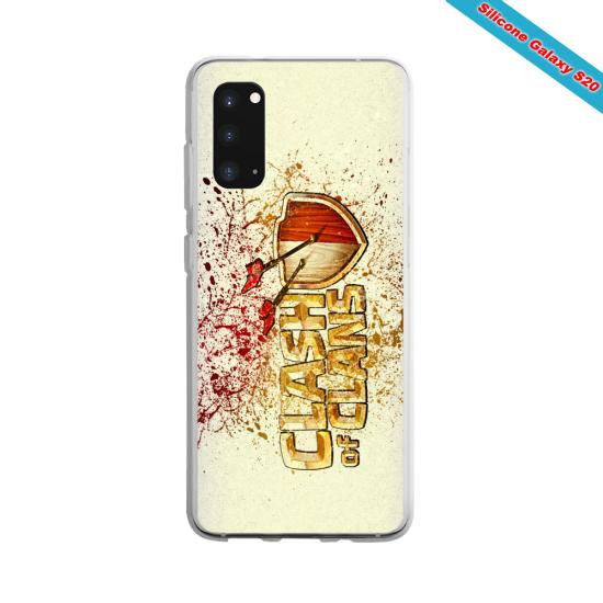 Coque silicone Galaxy J7 2017 Yoga Papillon