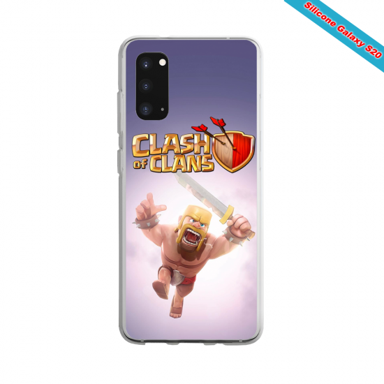 Coque Silicone Galaxy S6 Yoga Papillon
