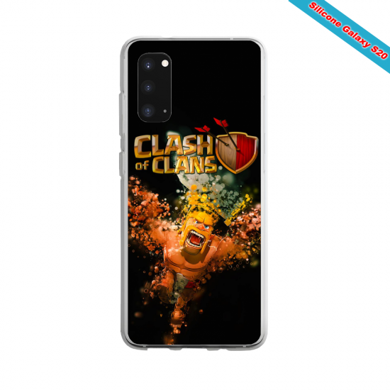 Coque Silicone Galaxy S7 Yoga Papillon