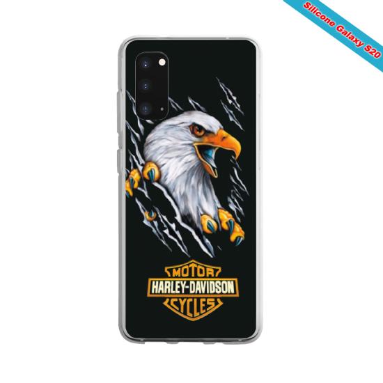 Coque Silicone Galaxy S7 EDGE Yoga Papillon