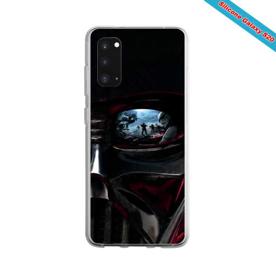 Coque Silicone Galaxy S8 Yoga Papillon