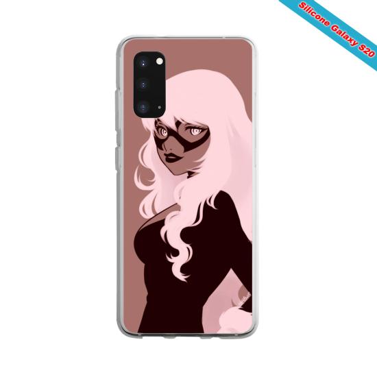 Coque Silicone Galaxy S10 Lite Yoga Papillon