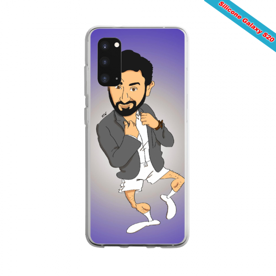 Coque Silicone Galaxy S20 PLUS Yoga Papillon