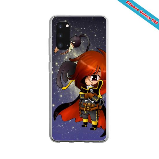 Coque Silicone Note 8 Yoga Papillon