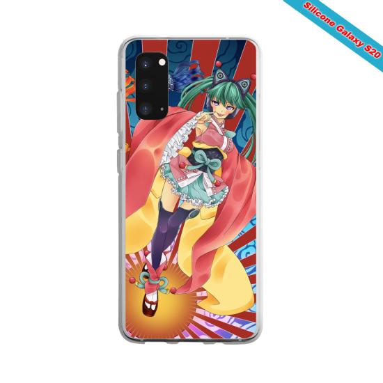 Coque silicone Huawei P8 lite 2017 Yoga Papillon