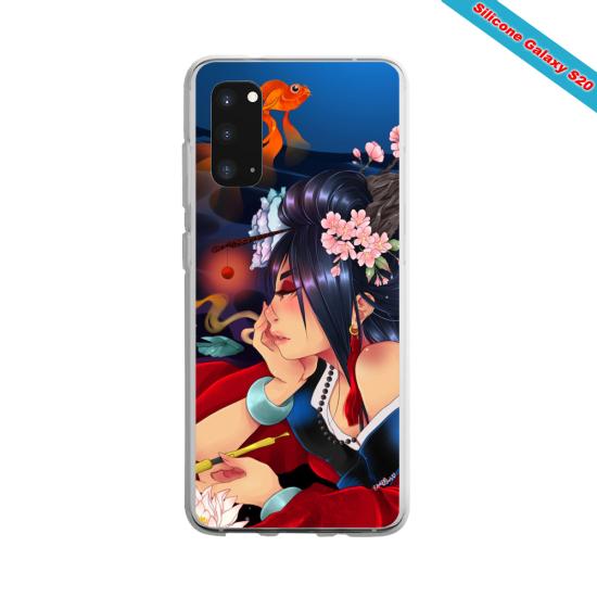 Coque silicone Huawei P10 Yoga Papillon