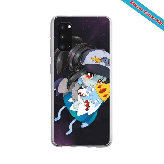 Coque silicone Huawei P10 Lite Yoga Papillon