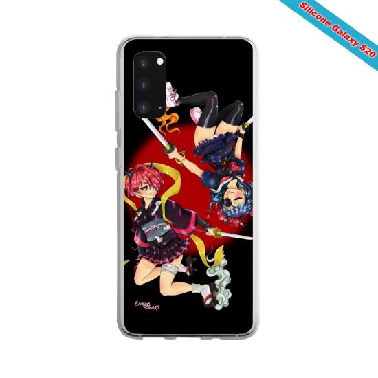 Coque silicone Huawei P20 Yoga Papillon
