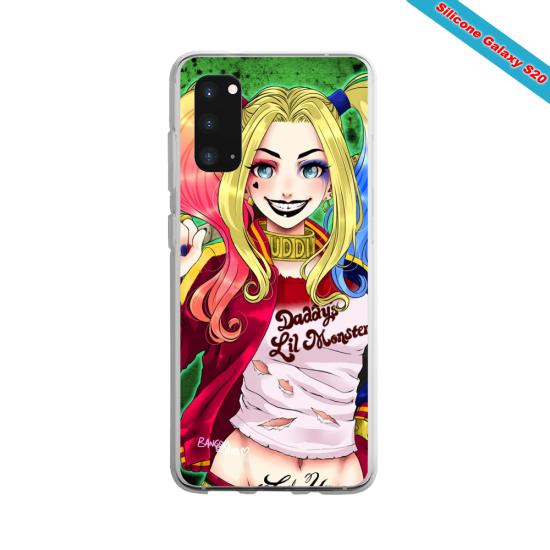 Coque silicone Huawei P20 LITE Yoga Papillon