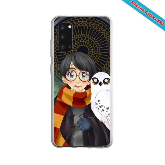 Coque silicone Huawei P20 LITE 2019 Yoga Papillon