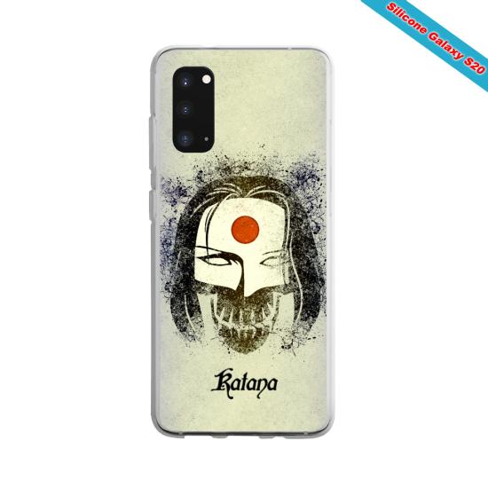 Coque silicone Galaxy A70 Summer party