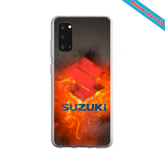 Coque silicone Galaxy A20E Summer party