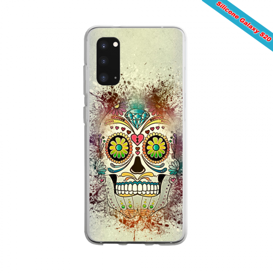 Coque silicone Iphone SE 2020 verre trempé Summer party