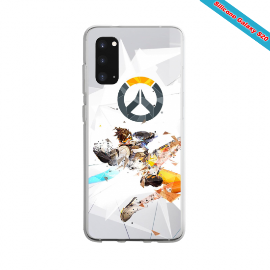 Coque silicone Iphone X/XS verre trempé Summer party