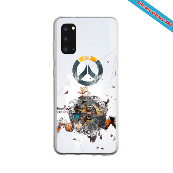 Coque silicone Iphone 6 PLUS Verre Trempé Summer party