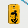 Coque Galaxy S4 Hipster coupe fun