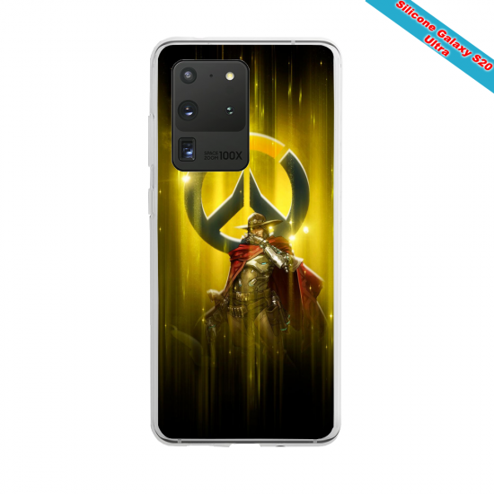 Coque Silicone Galaxy S10 verre trempé Fan de Ligue 1 Rennes splatter