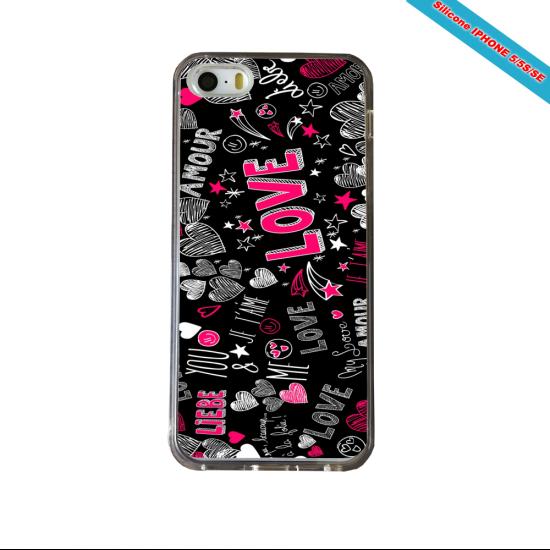 Coque Silicone Galaxy S10 verre trempé Fan de Ligue 1 Brest splatter
