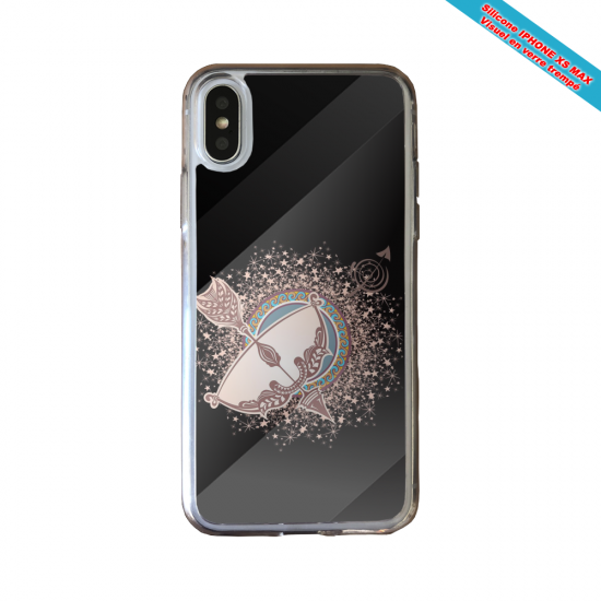 Coque silicone Huawei P40 Lite Fan de Ligue 1 Paris splatter