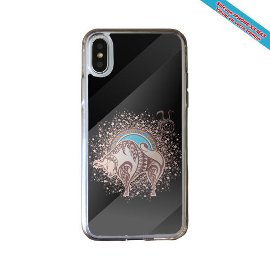 Coque silicone Huawei P40 Lite Fan de Ligue 1 Montpellier splatter