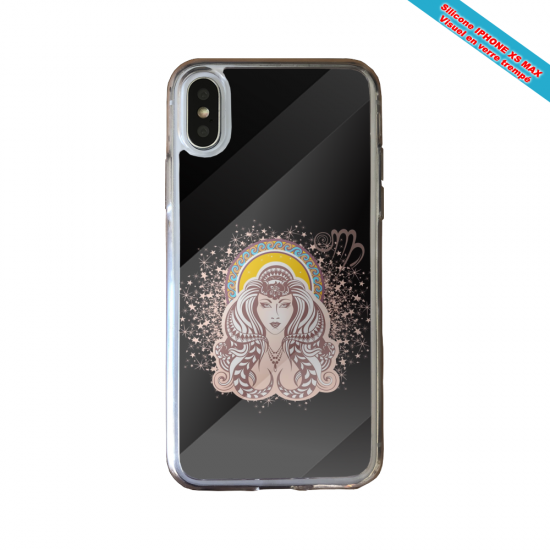 Coque silicone Huawei P40 Lite Fan de Ligue 1 Marseille splatter