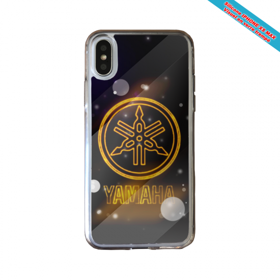 Coque silicone Huawei P40 Lite Fan de Ligue 1 Angers splatter