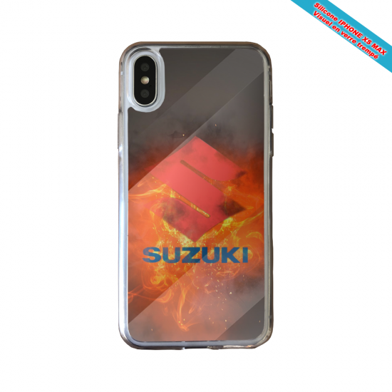 Coque silicone Huawei P40 Lite Fan de Ligue 1 Lyon cosmic