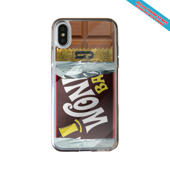 Coque silicone Huawei P40 Lite Fan de Ligue 1 Bordeaux cosmic