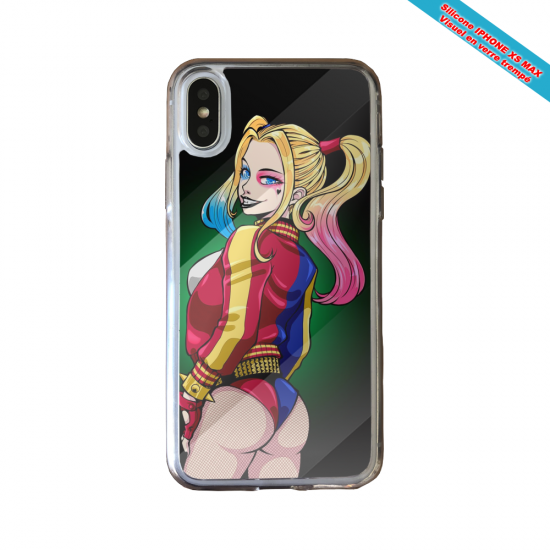 Coque silicone Huawei P40 Lite Fan de Ligue 1 Toulouse graffiti