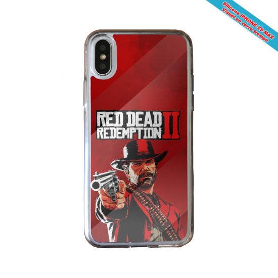 Coque silicone Huawei P40 Lite Fan de Ligue 1 Strasbourg graffiti