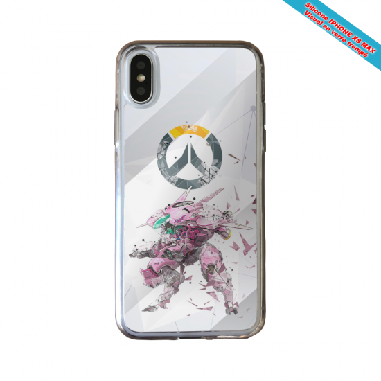 Coque silicone Huawei P40 Lite Fan de Ligue 1 Rennes graffiti
