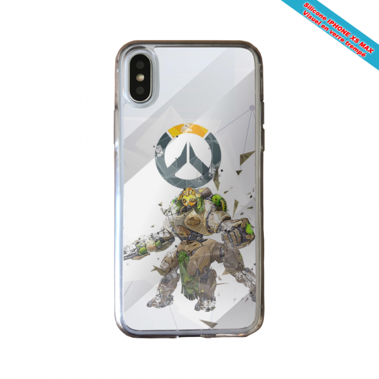 Coque silicone Huawei P40 Lite Fan de Ligue 1 Reims graffiti