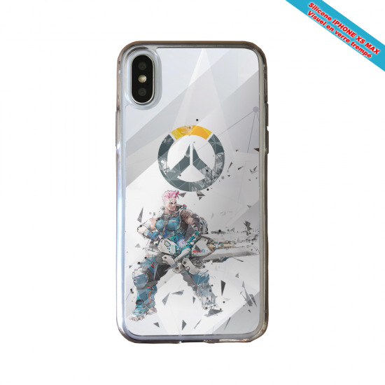 Coque silicone Huawei P40 Lite Fan de Ligue 1 Nantes graffiti