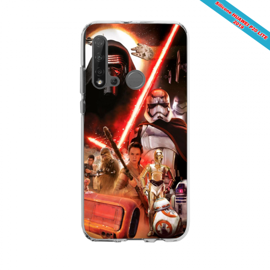 Coque silicone Huawei P40 Lite E Fan d'Overwatch Genji super hero