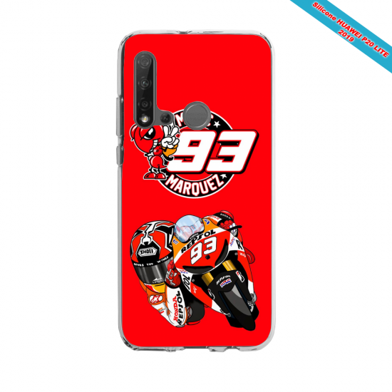 Coque silicone Huawei P40 Lite E Fan d'Overwatch Symmetra super hero