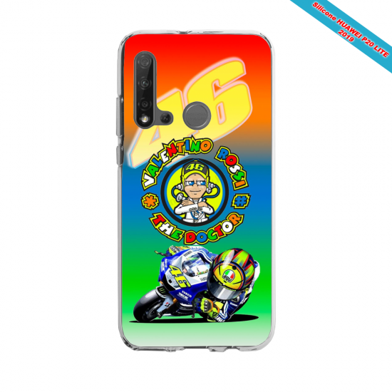 Coque silicone Huawei P40 Lite E Fan d'Overwatch Soldat 76 super hero