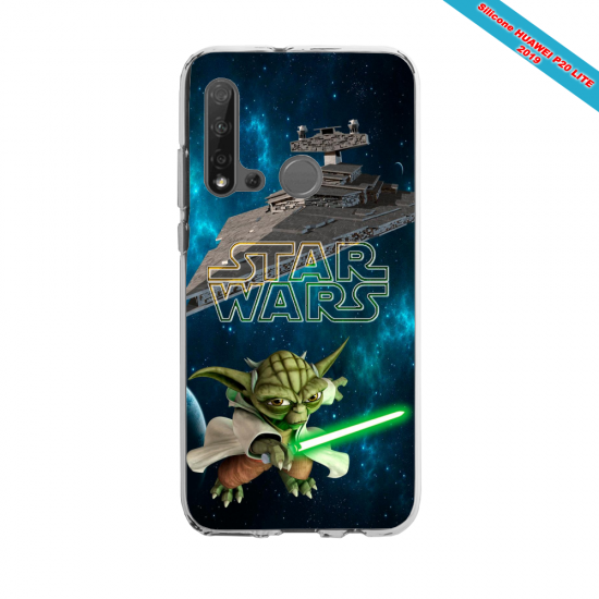 Coque silicone Huawei P40 Lite E Fan d'Overwatch Lúcio super hero