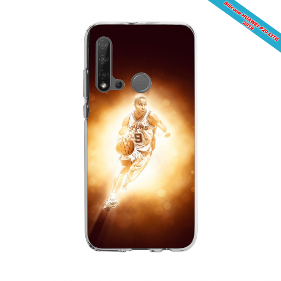 Coque silicone Huawei P40 Lite E Fan d'Overwatch Fatale super hero