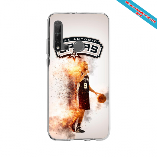 Coque silicone Huawei P40 Lite E Fan d'Overwatch Zarya super hero